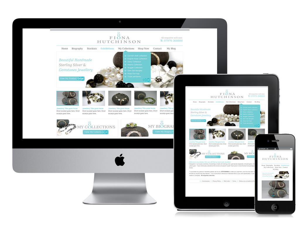 Criamos sites adaptativos responsive